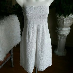 Lilly Pulitzer cotton lace dress size 8